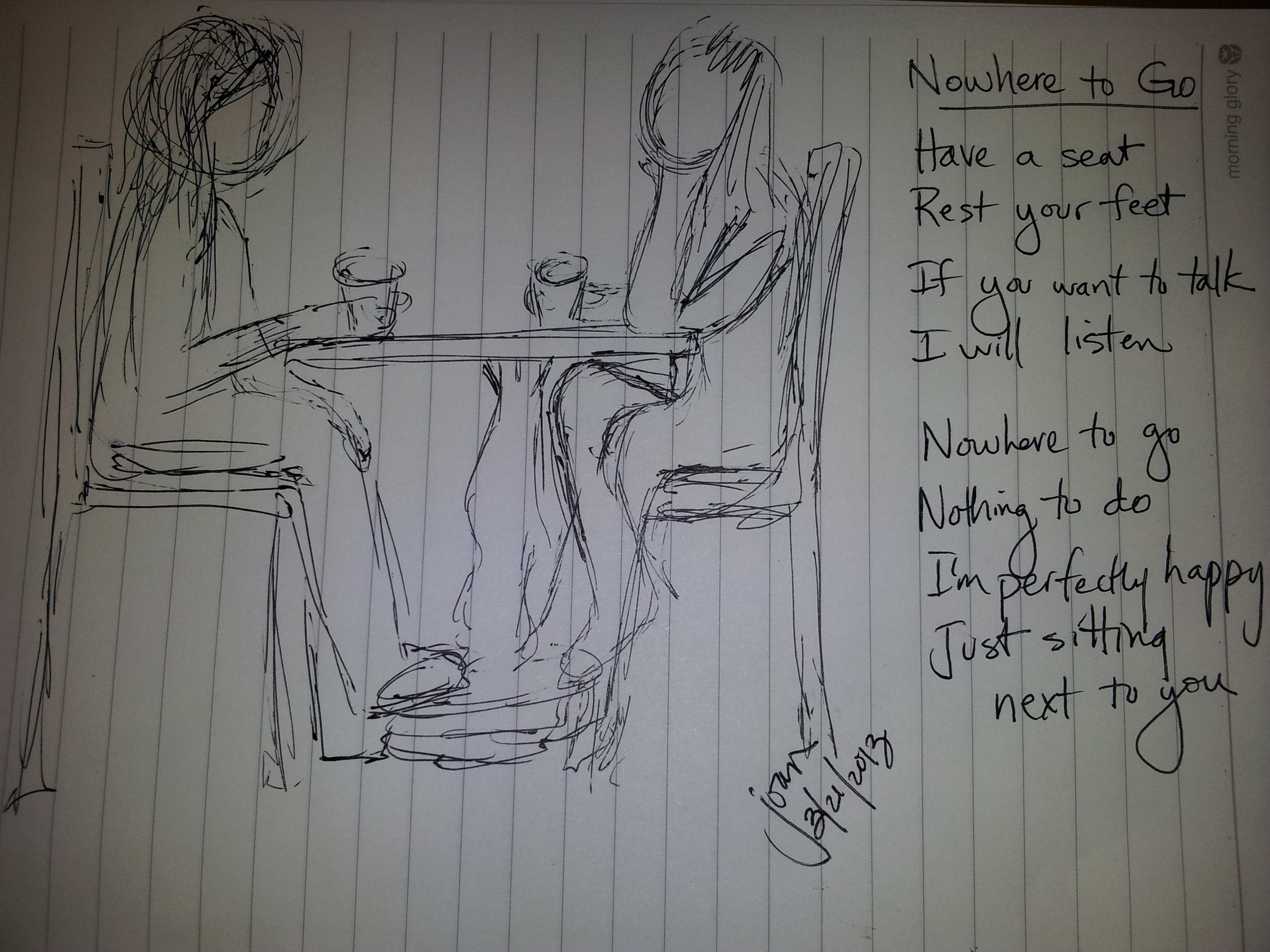 2013-03-21  Sketch Nowhere to Go