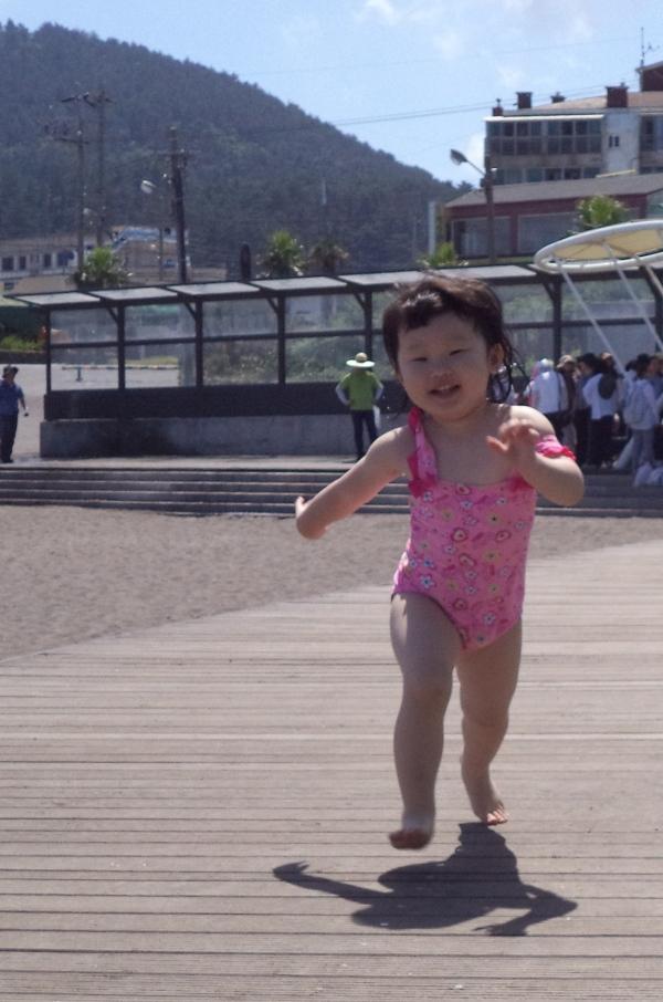 2013-07-13 Running at Samyang Beach