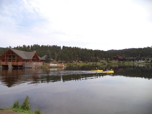2013-08-08 Evergreen Lake Paddleboarding (16)